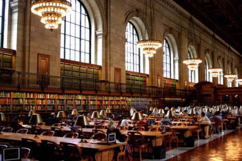 This is the New York Public Library
