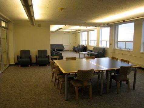 Gleeson Top Floor Study Space