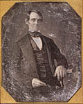 Abraham Lincoln, 1846 or 1847. From Library of Congress Prints and Photographs Division, LC-USZC4-2439