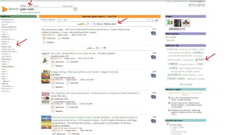 Figure 2. Search results