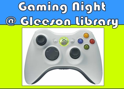Gaming Night at Gleeson Library