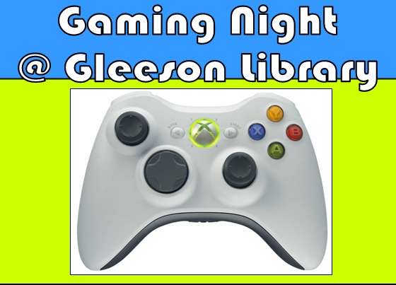 Gaming Night at Gleeson Library