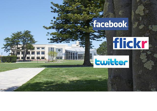 Gleeson Library Social Networks