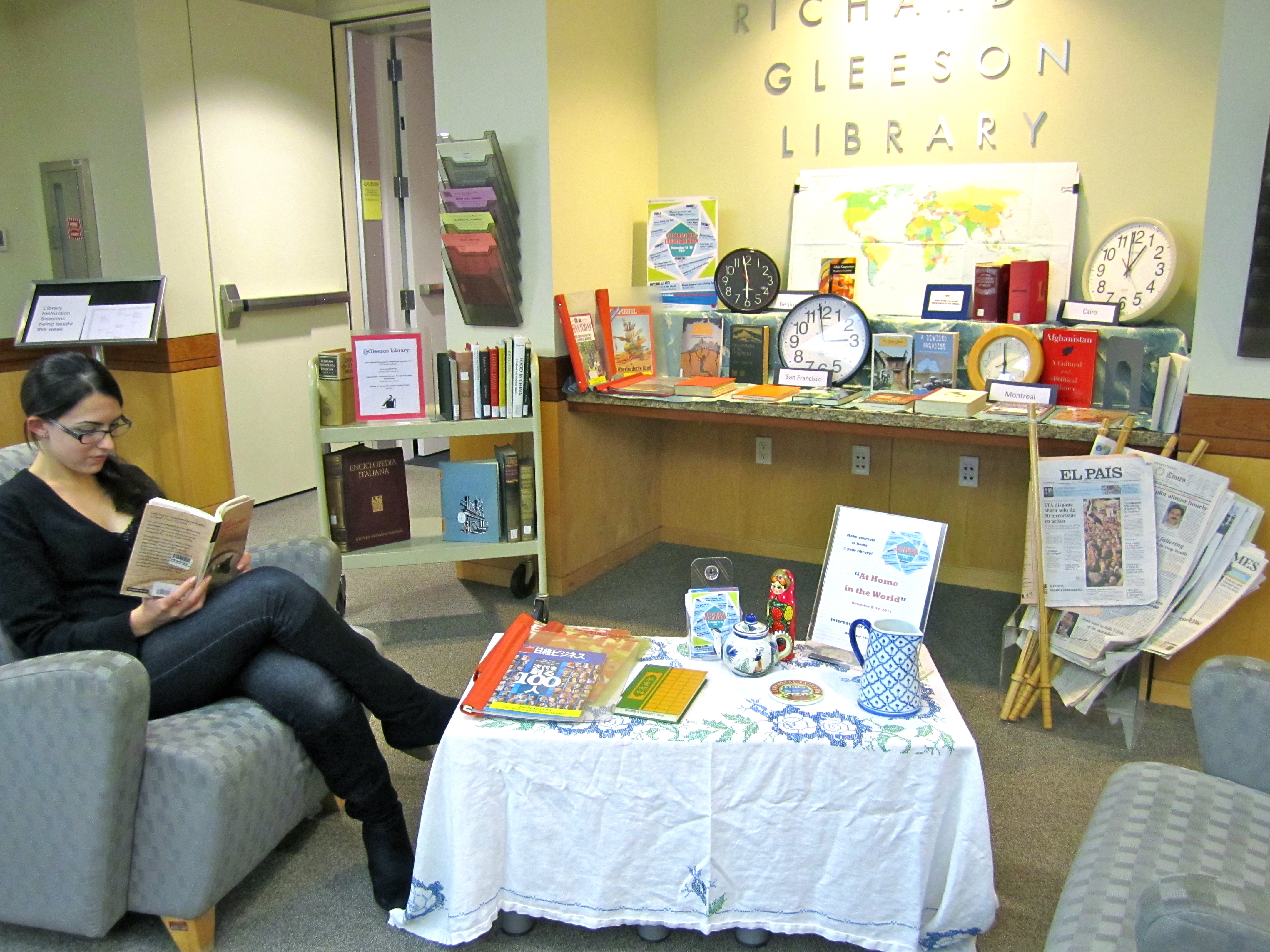 At Home In The World Gleeson Gleanings News Updates From Gleeson Library Geschke Center Usf