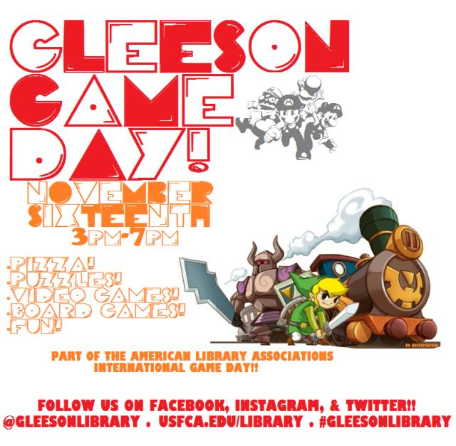 Gleeson Game Day!
