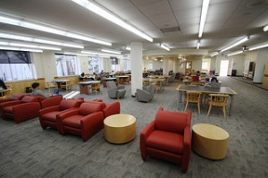 Gleeson 2nd Floor Study Area