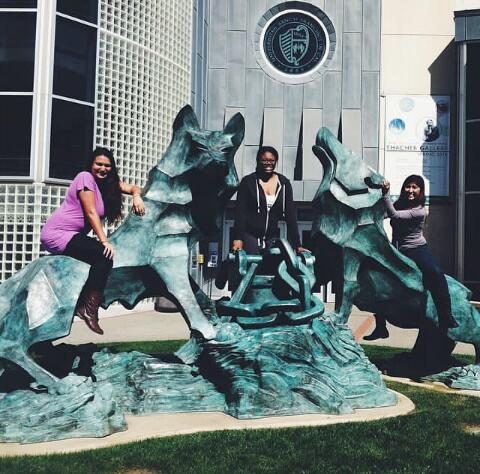 Photo: Eileen Macisas-Mendoza, Jonna German, and Rhadika Misri