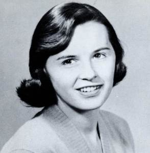 Ellen Tully, ASUSF Secretary. From the Don, 1956. From Gleeson Library's Digital Collections.