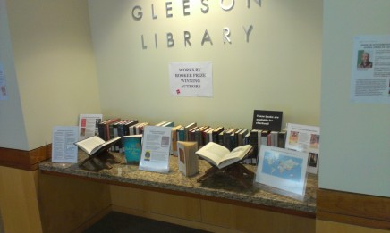 Display: Works by Booker Prize Winning Authors