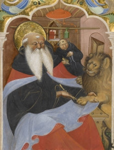 Saint Jerome Extracting a Thorn from a Lion's Paw, Digital image courtesy of the Getty's Open Content Program.