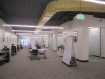 Gleeson 2nd Floor: a view of the new, flexible open study space
