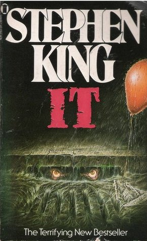 Book cover of Stephen King's IT