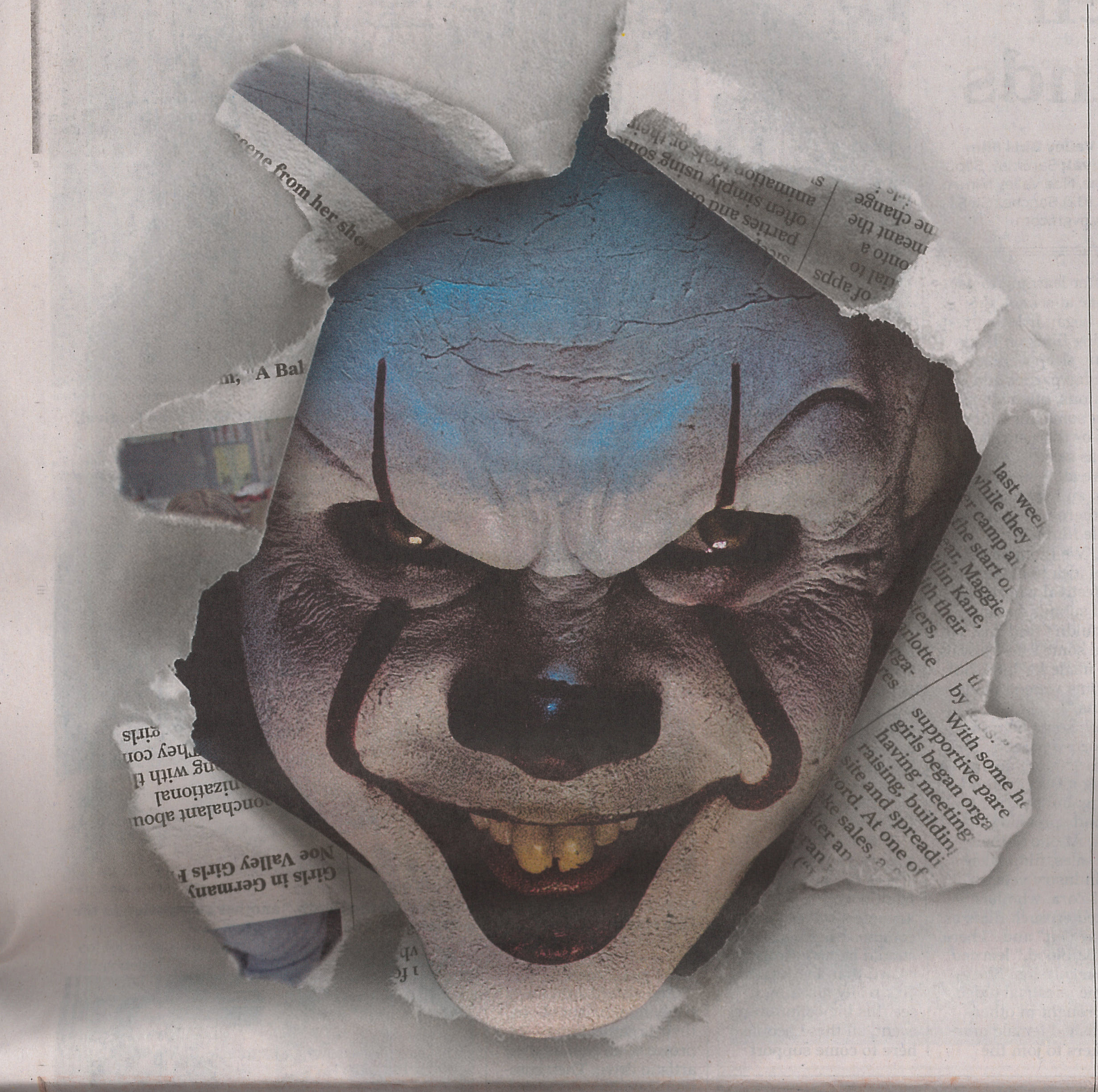 Clown Pennywise from Stephen King's IT