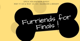 Let our Furriends for Finals assist you
