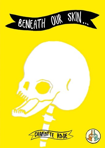 Zine cover of Beneath our skin