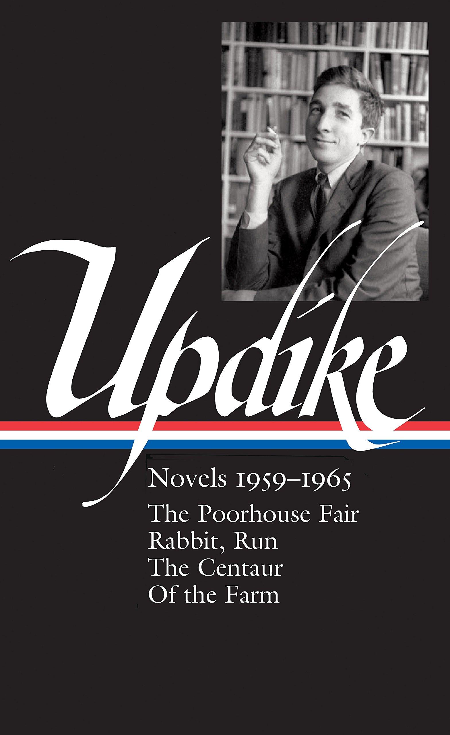 Book cover of John Updike : novels, 1959-1965