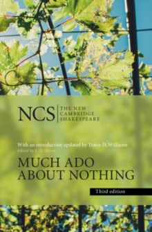 Book cover of Much ado about nothing by William Shakespeare