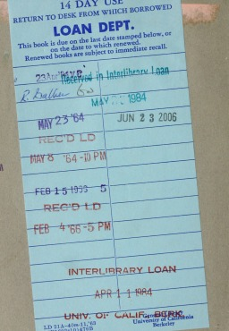 Interlibrary Loan for Faculty: What's New
