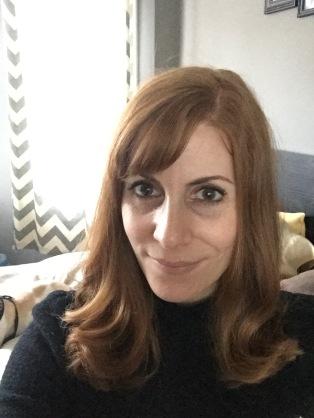 Selfie of archivist Annie Reid