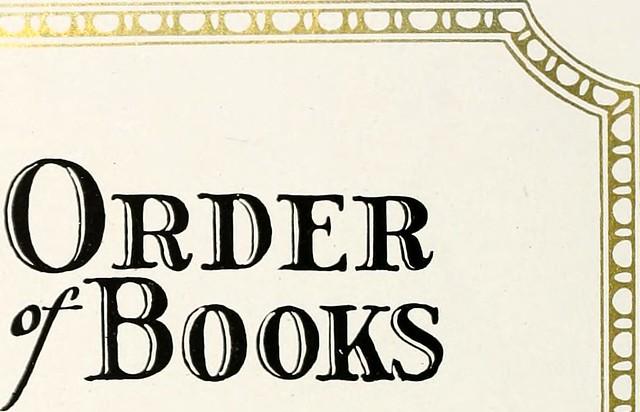 Order of Books