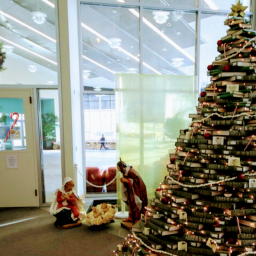 Merry Christmas from Gleeson Library